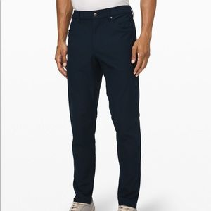 ABC Navy Lululemon Pants